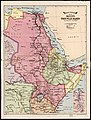 Bacon's excelsior map of Egypt, the Nile basin and adjoining countries. LOC 2009580100.jpg