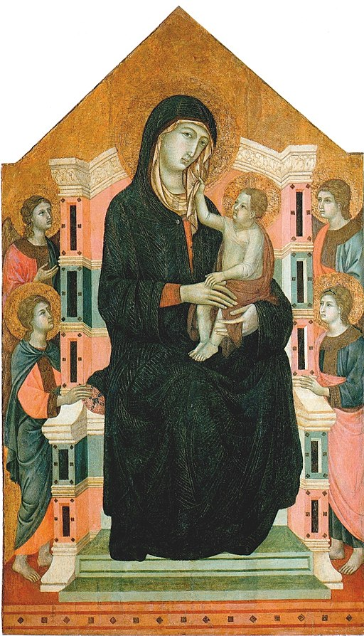 Badia a Isola Master. Maesta ca.1315. Vittorio Cini Collection, Venice