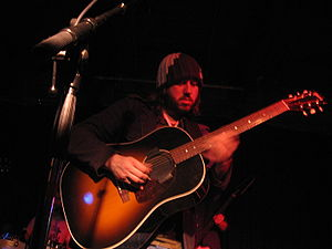Badly Drawn Boy - Gough playing a show in the Urban Lounge, Salt Lake City, Utah. (March 2007)
