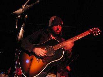 Badly Drawn Boy - Gough playing a show in the Urban Lounge, Salt Lake City, Utah. (March 2007)