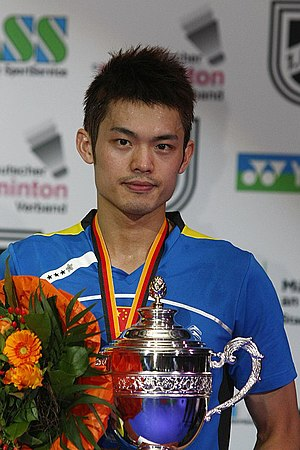 Lin Dan - Lin Dan in 2011 German Open.