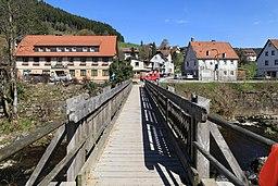 Baiersbronn - Neumühleweg-Lochweg - Murgsteg + Murgtalstraße 02 ies
