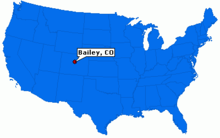 Bailey Colorado Map Bailey, Colorado   Wikipedia