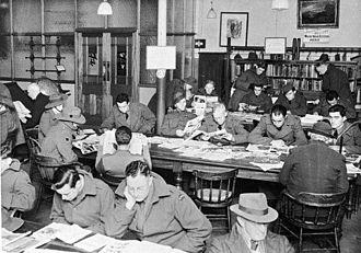 Cultural institutions in Australia - Image: Ballarat Mechanics Institute 1942