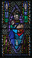 Ballinasloe St. Michael's Church North Aisle Fifth Window St. John and Our Lady by Harry Clarke Studios Detail Nativity 2010 09 15.jpg