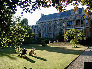 Balliol College, Oxford - Balliol College Garden