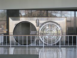 Bank of the West Los Altos branch vault