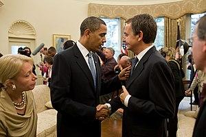 Barack Obama%2C Jose Luis Rodriguez Zapatero