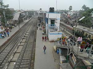 Barasat - Image: Barasat railway station