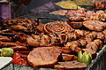 Barbecue food in Romania.JPG