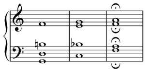 Harmonic seventh chord - Image: Barbershop secondary dominant