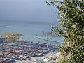 Barcelona port from Montjuic Castle (2929293613).jpg