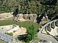 Barragem de Picote durante as obras de 2007 1.jpg