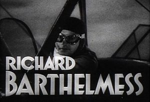 Central Airport (film) - Image: Barthelmess Credit Central Airport 1933Trailer