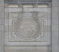 Bas relief. Federal Building and U.S. Courthouse, Asheville, North Carolina LCCN2014630043.tif