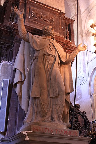 Exuperius - Sculpture of Saint Exuperius in the Basilica of St. Sernin, Toulouse.