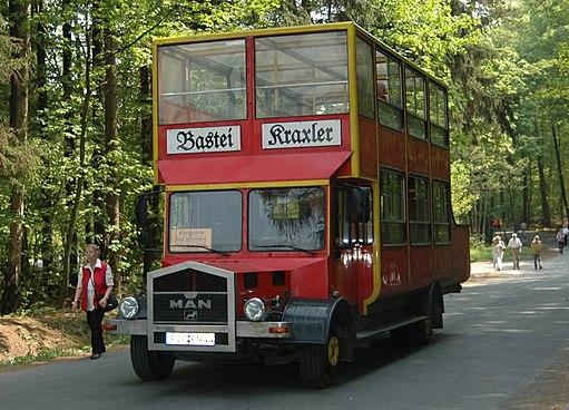 Bastei-Kraxler bus