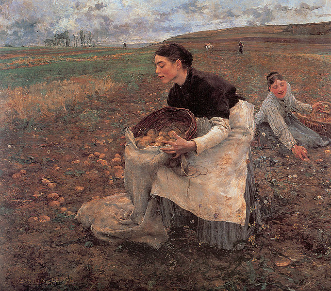 File:Bastien Lepage Saison d-Octobre Recolte des pommes de terre.jpg