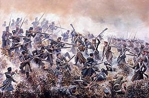 1854 in Russia - Battle of Inkermann by David Rowlands