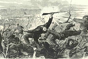 Battle of Munfordville - Image: Battle of Munfordville