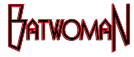 Titellogo Batwoman comic.