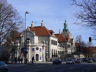 Prinzregentenstraße (Munich) - Bavarian National Museum, Prinzregentenstraße