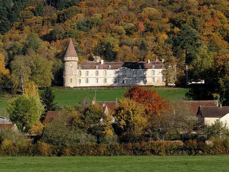 Le château de Bazoches, Nièvre, France.