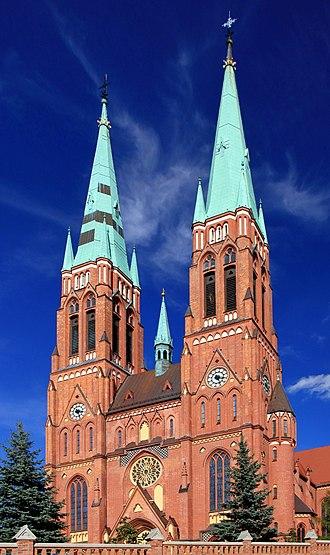 Rybnik - St. Anthony's Basilica in Rybnik