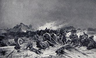 Battle of Beaune-la-Rolande - A near-contemporary depiction of the battle