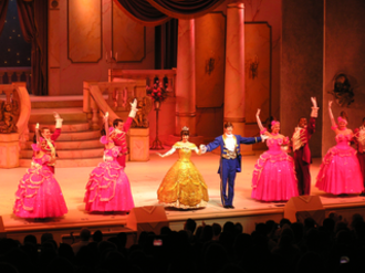 Beauty and the Beast Live on Stage - The final bows.
