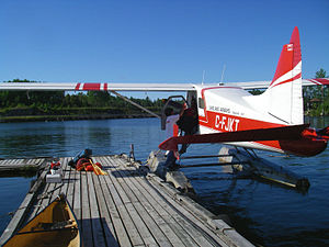 Temagami Water Aerodrome - Lakeland Airways, Beaver