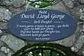 Bedd David Lloyd George Llanystumdwy David Lloyd George's Grave - geograph.org.uk - 469217.jpg