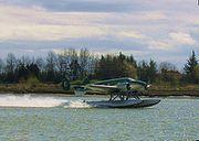 Beech18 on floats
