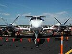 Beech Super King Air front view (5752157316).jpg