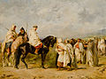 Before the Race-Fantasia or The Halt in the Desert by Eugene Fromentin.jpg