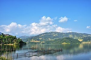 Begnas Lake - Image: Begnas Lake, Lekhnath, Kaski, Nepal