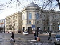 Quartier général de la CEI à Minsk.