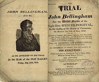 True crime - Murder pamphlet, 1812