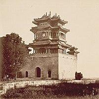 The Summer Palace, or Yihe Yuan, Beijing, China.