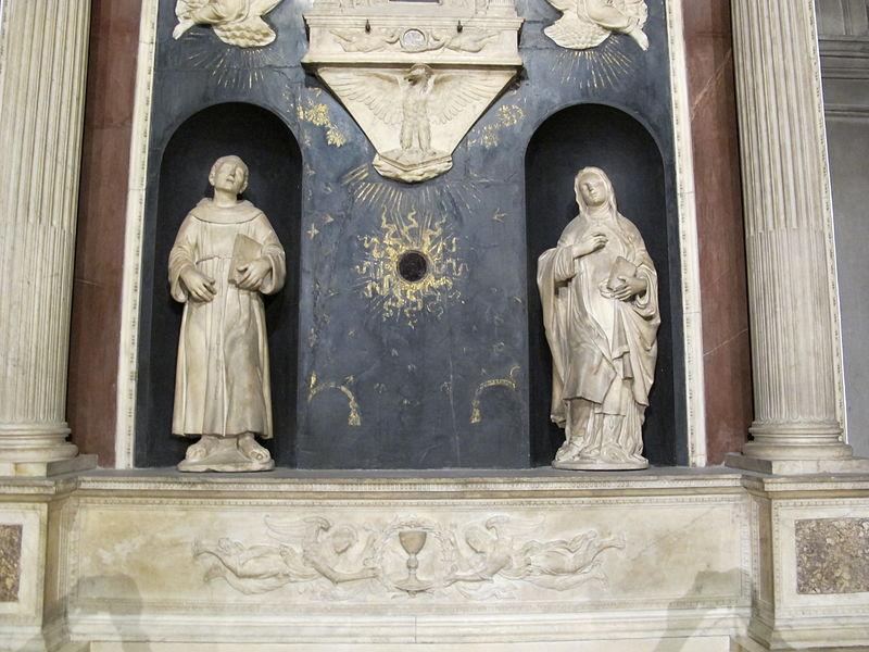 file benedetto da maiano e leonardo del tasso pala di santa chiara firenze 1493 1497 ca 02. Black Bedroom Furniture Sets. Home Design Ideas