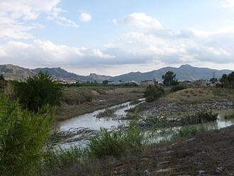 Guadalentín - The Guadalentín River.