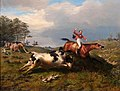 Benno Adam - Verhinderte Fuchsjagd, 1863.jpg