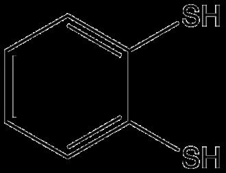 1,2-Benzenedithiol - Image: Benzene 12 dithiol