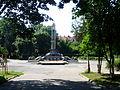 Berehove Zakarpatska-Heroes square.jpg