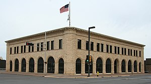 National Register of Historic Places listings in Douglas County, Wisconsin - Image: Berkshire Block Superior WI