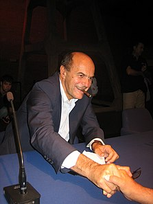Bersani nel 2009