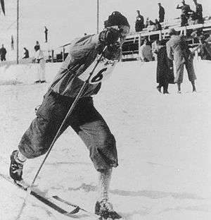 Bertil Haase - Haase at the 1948 Olympics