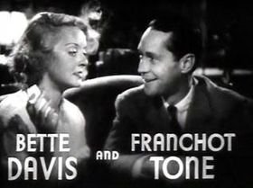 Bette Davis and Franchot Tone in Dangerous trailer.JPG