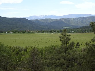 Prehistory of Colorado - Beulah, Colorado - Montane grasslands