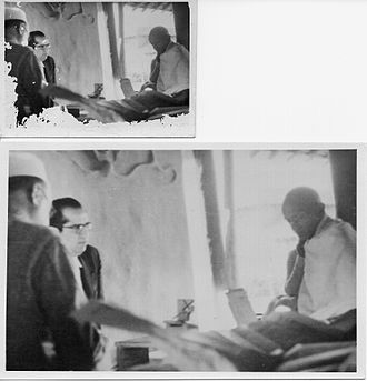 Bhai Pratap Dialdas - Image: Bhai Pratap with Gandhiji